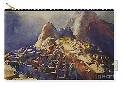Watercolor Painting Machu Picchu Peru Carry-all Pouch