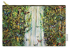 Waterfall Of Prosperity II Carry-all Pouch