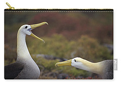 Waved Albatross Courtship Display Carry-all Pouch