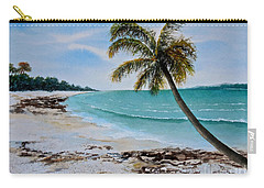 West Of Zanzibar Carry-all Pouch by Sher Nasser