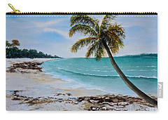 Carry-all Pouch featuring the painting West Of Zanzibar by Sher Nasser