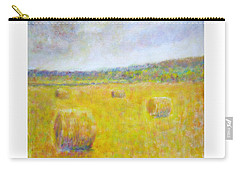 Wheat Bales At Harvest Carry-all Pouch