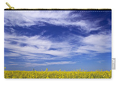 Carry-all Pouch featuring the photograph Where Land Meets Sky by Keith Armstrong