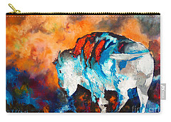 White Buffalo Ghost Carry-all Pouch