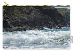 White Surf Carry-all Pouch