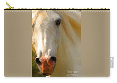Carry-all Pouch featuring the photograph Wild And Free by Melinda Hughes-Berland