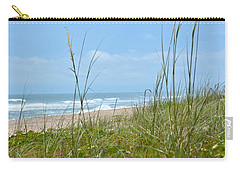 Archie Carr Beach And Wildlife Refuge Carry-all Pouch by Carol  Bradley