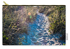 Carry-all Pouch featuring the photograph Wilmington Coastal Scene Wilmington North Carolina by Alex Grichenko