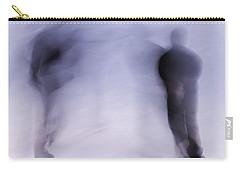 Carry-all Pouch featuring the photograph Winter Illusions On Ice - Series 3 by Steven Milner