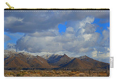 Winter In Golden Valley Carry-all Pouch