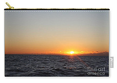 Winter Sunrise Over The Ocean Carry-all Pouch
