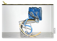 Carry-all Pouch featuring the photograph Wire Box by Henrik Lehnerer