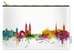 Zurich Switzerland Skyline Carry-all Pouch
