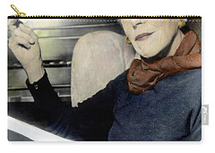 Carry-all Pouch featuring the photograph Isak Dinesen (1885-1962) by Granger