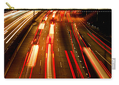Carry-all Pouch featuring the photograph 101 At Night by Matt Harang