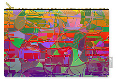 1021 Abstract Thought Carry-all Pouch
