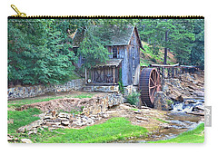 Sixes Mill On Dukes Creek Carry-all Pouch by Gordon Elwell