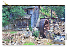 Sixes Mill On Dukes Creek - Square Carry-all Pouch