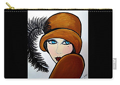 Art Deco  Gail Carry-all Pouch