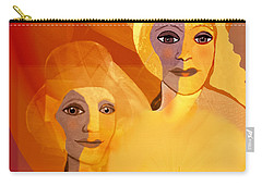 1196 - Candle Of Our Life .. Carry-all Pouch by Irmgard Schoendorf Welch