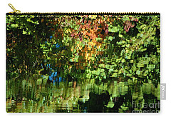 Carry-all Pouch featuring the photograph Autumn Light by Christiane Hellner-OBrien