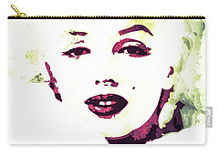Marilyn Monroe Carry-all Pouch by Svelby Art