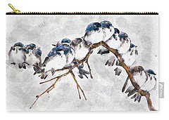 12 On A Twig Carry-all Pouch