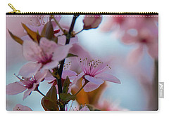 Plum Tree Flowers Carry-all Pouch