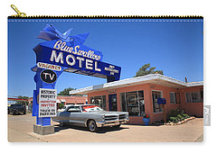 Route 66 - Blue Swallow Motel Carry-all Pouch