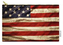 American Flag 59 Carry-all Pouch