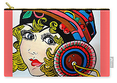 Art Deco  Ann Carry-all Pouch