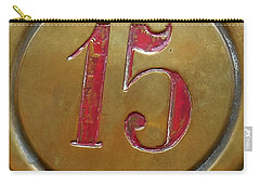 15 Brass Button Carry-all Pouch by Valerie Reeves