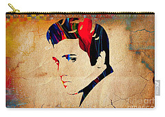 Elvis Presley Carry-all Pouch by Marvin Blaine