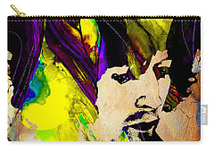 Eric Clapton Collection Carry-all Pouch by Marvin Blaine