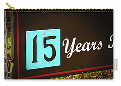 15 Years Carry-all Pouch by Valerie Reeves