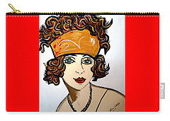 1920's Flapper Girl Carry-all Pouch