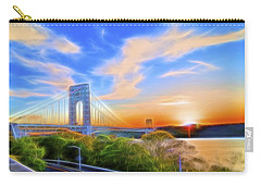 Carry-all Pouch featuring the photograph Sunset Dream by Theodore Jones