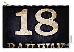 18 Railway Carry-all Pouch by Valerie Reeves