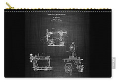 1885 Singer Sewing Machine Carry-all Pouch