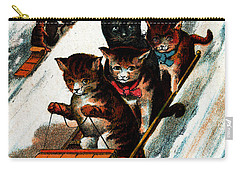 1887 Toboggan Cats Carry-all Pouch