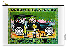 1919 Chandler Automobile Poster Carry-all Pouch