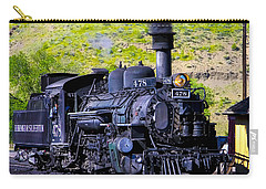 1923 Vintage  Railroad Train Locomotive  Carry-all Pouch