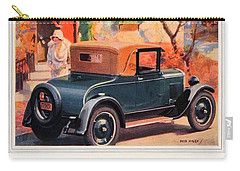 1927 - Chevrolet Advertisement - Color Carry-all Pouch
