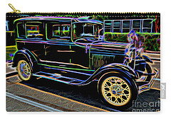 1929 Ford Model A - Antique Car Carry-all Pouch