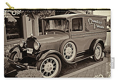 Carry-all Pouch featuring the digital art 1930 Ford Panel Truck by Richard Farrington