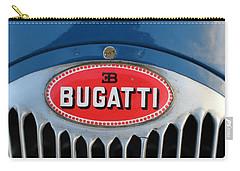 1930's Ettore Bugatti Carry-all Pouch