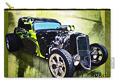 1934 Ford Three Window Coupe Hot Rod Carry-all Pouch