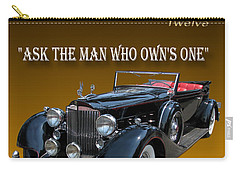 1934 Packard Carry-all Pouch by Jack Pumphrey