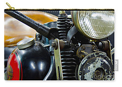 1936 El Knucklehead Harley Davidson Motorcycle Carry-all Pouch