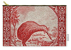 1936 New Zealand Kiwi Stamp Carry-all Pouch
